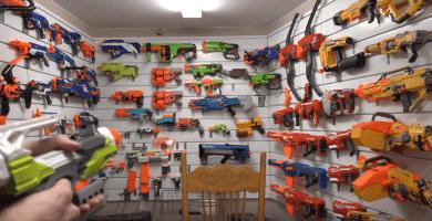 nerf y pistolas nerf