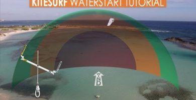 waterstart kitesurf