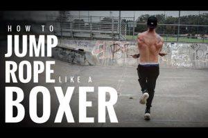 como saltar a la comba boxeo