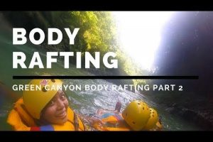 Body rafting en green canyon pangandaran