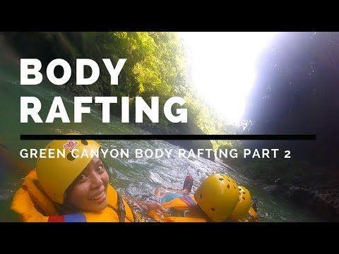 Body rafting en green canyon pangandaran
