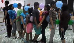 uegos con globos para niños y jóven
