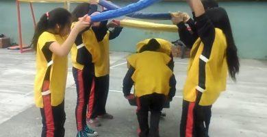 juegos en equipo al aire libre